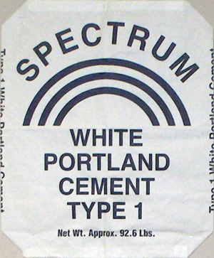 Spectrum White Portland Cement Type 1